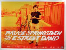 Bruce Springsteen Signed 18x24 Concert Poster LE 286/350 BAS #A07105