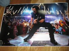 Bruce Springsteen Signed 20x30 Photo PSA DNA Letter Of Authenticity Autograph
