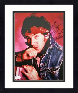 Bruce Springsteen Signed 8x10 Photo Autographed JSA #Z82253