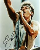 Bruce Springsteen Signed 8X10 Photo Born In The USA BAS #A06752