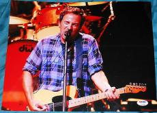 Bruce Springsteen Signed Autograph Born To Run Huge 11x14 Photo Psa/dna V14245