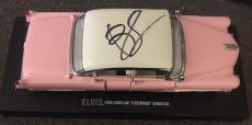 Bruce Springsteen Signed Autograph Elvis Pink Cadillac Exact Replica Model Car