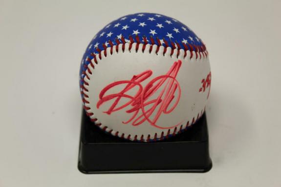 Bruce Springsteen Signed Autograph Fender Baseball Ball Born In The Usa Icon Psa