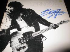 Bruce Springsteen Signed Autograph Lp Album Born To Run In Person Coa Auto Ny D