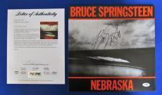 Bruce Springsteen Signed Autograph Nebraska LP Vinyl Album PSA/DNA AB00879