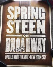 Bruce Springsteen Signed Autograph On Broadway Limited Edition Show Poster Coa