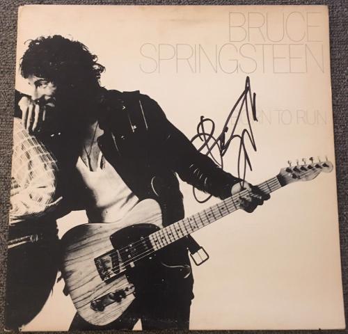 "Bruce Springsteen Signed Autograph Original 1975 Press ""born To Run"" Album Vinyl"