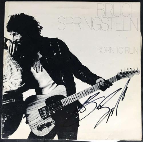 Bruce Springsteen Signed Autographed Born To Run Album LP Boss JSA