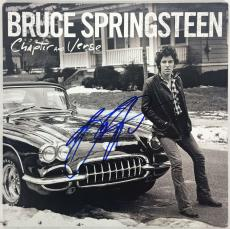 Bruce Springsteen Signed Autographed Chapter and Verse Album Beckett BAS