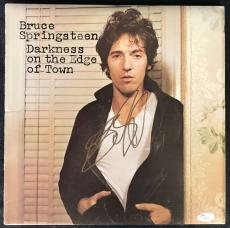 Bruce Springsteen Signed Autographed Darkness On The Edge Of Town Album JSA