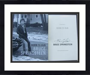 Bruce Springsteen signed book Born to Run 1st Print Beckett BAS Authentic auto