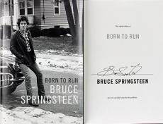 Bruce Springsteen Signed Born To Run Book Autographed w/ PPC COA