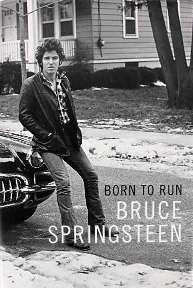 Bruce Springsteen Signed Born To Run First Edition Book Autographed BAS