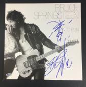 Bruce Springsteen Signed Born To Run W/ Guitar Sketch Album Bas Coa Beckett