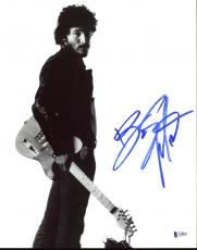 Bruce Springsteen Signed B&W 11x14 Photo Autographed BAS #A10825