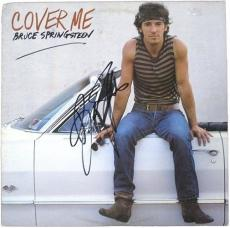 Bruce Springsteen Signed Cover Me Vintage LP Record Album with Vinyl cbm COA