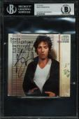 Bruce Springsteen Signed Darkness On The Edge Of Town Cd Cover BAS Slabbed