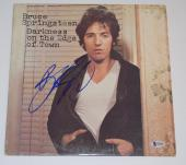 Bruce Springsteen Signed DARKNESS ON THE EDGE OF TOWN Vinyl Record Album BAS COA