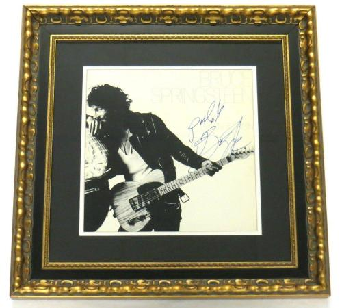 Bruce Springsteen Signed Framed Authentic Record Album PSA/DNA #E33081