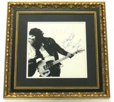 Bruce Springsteen Signed Framed Authentic Record Album PSA/DNA #E33081