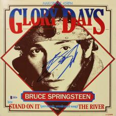 Bruce Springsteen Signed Glory Days Maxi Single 45RPM Album Cover BAS #A05194