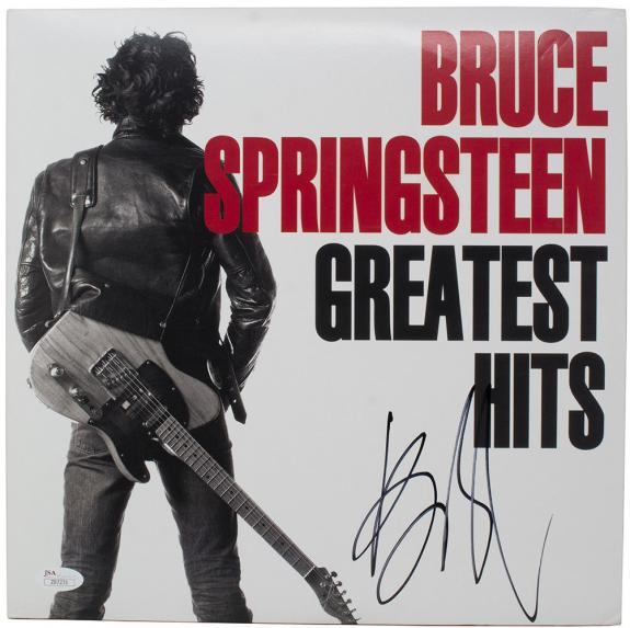 Bruce Springsteen Signed Greatest Hits Vinyl Record Album JSA