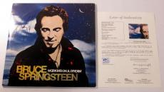 Bruce Springsteen Signed LP 2-Record Set Album Working on a Dream w/ JSA AUTO