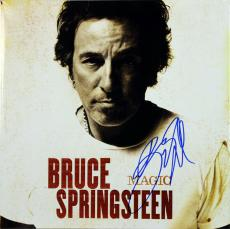 Bruce Springsteen Signed Magic Album Cover W/ Vinyl Autographed BAS #A00300