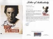 Bruce Springsteen Signed Magic Song / Lyric Program Psa Loa Ad03947