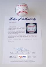 Bruce Springsteen Signed Major League Baseball Psa Loa S10442