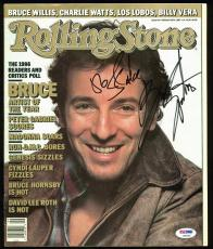 Bruce Springsteen Signed Rolling Stone Magazine PSA/DNA #AB03367