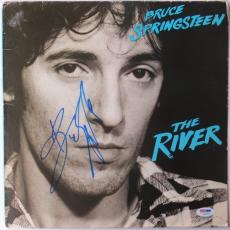 Bruce Springsteen Signed The River Autographed Album Cover PSA/DNA #AB01528