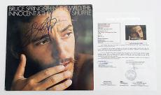 Bruce Springsteen Signed The Wild The Innocent & The E Street Shuffle Record Jsa