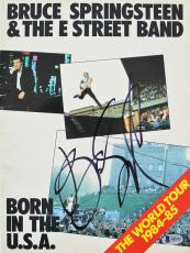 Bruce Springsteen Signed Vintage 1984 Born In The USA Tour Program BAS #A05215