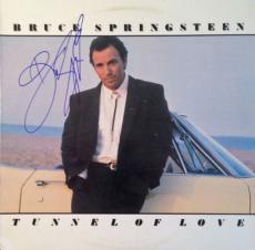 "BRUCE SPRINGSTEEN signed/autographed ""Tunnel of Love "" Album-Full JSA Letter"