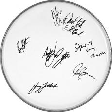 Bruce Springsteen & The E-Street Band Autographed Facsimile Signed Clear Drumhead