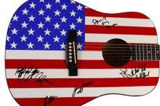 Bruce Springsteen & The E-Street Band Autographed Facsimile Signed Guitar