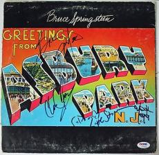 Bruce Springsteen & The E-Street Band Signed Autographed Album w Clemons PSA/DNA