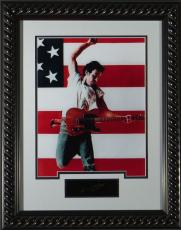 Bruce Springsteen Born in the USA Replica Autographed Displa