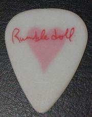 Bruce Springsteen Wife Patti Scialfa Rumble Doll Glow Guitar Pick Rare Authentic