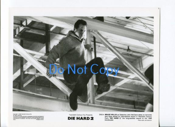 Bruce Willis Die Hard 2 Original Glossy Press Movie Photo