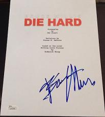 "Bruce Willis Signed Autograph Very Rare ""die Hard"" Full Movie Script Jsa L87059"