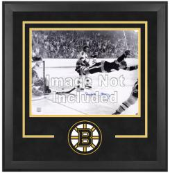 "Boston Bruins Deluxe 16"" x 20"" Horizontal Photograph Frame - Mounted Memories"