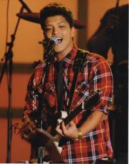 Bruno Mars Autographed Concert 11x14 Photo