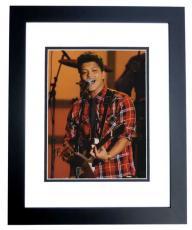 Bruno Mars Autographed Concert 11x14 Photo BLACK CUSTOM FRAME