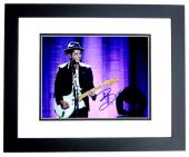 Bruno Mars Signed - Autographed 24K Magic Singer 11x14 inch Photo BLACK CUSTOM FRAME - Guaranteed to pass PSA or JSA