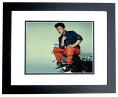 Bruno Mars Signed - Autographed Concert 8x10 Photo BLACK CUSTOM FRAME