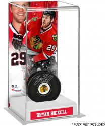 Bryan Bickell Chicago Blackhawks Deluxe Tall Hockey Puck Case
