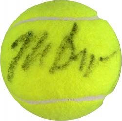 Bob & Mike Bryan Dual Autographed Tennis Ball