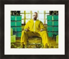 Bryan Cranston 8x10 photo (Breaking Bad, Walter White) Image #2 Matted & Framed